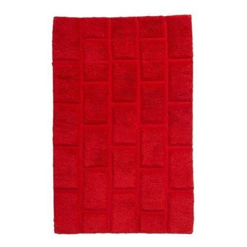 Dywanik łazienkowy Managua 60 x 90 cm czerwony, BATHMAT 52
