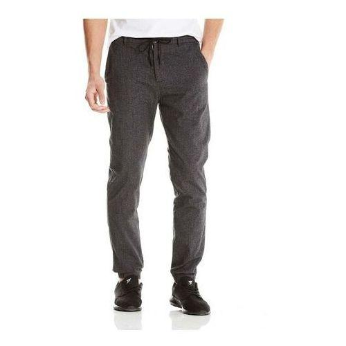 Spodnie - wool look dark grey marl winter (ma1053), Bench