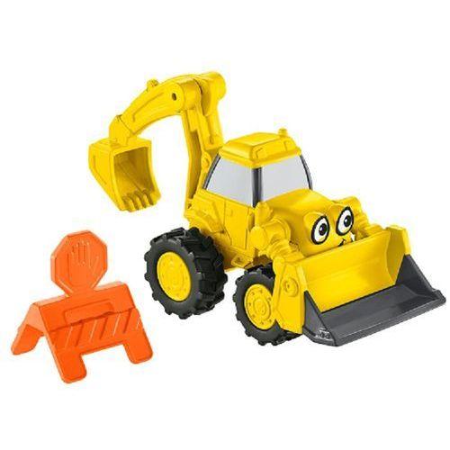 Zabawka  bob budowniczy mały pojazd koparka marki Mattel