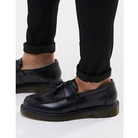 Dr martens adrian tassel loafers in black - black