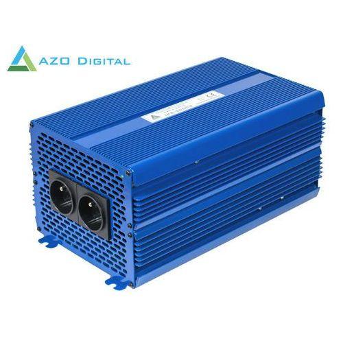 Azo digital Przetwornica napięcia 24 vdc / 230 vac eco mode sinus ips-5000s 5000w (5905279203198)