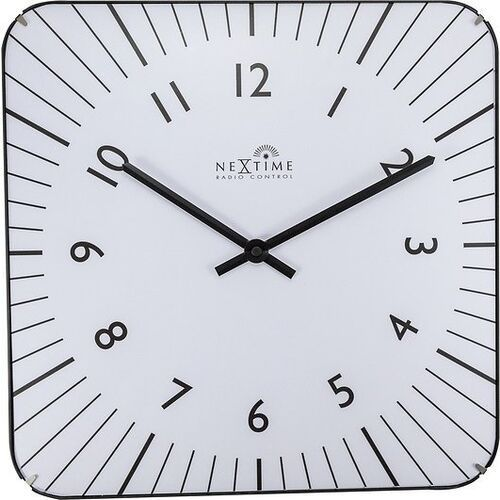 Zegar ścienny alex rc biały marki Nextime