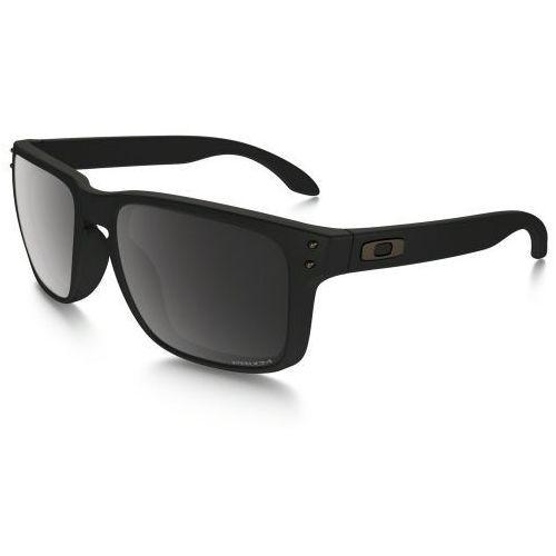 Okulary Oakley Holbrook Matte Black Prizm Black Polarized OO9102-D655, kolor czarny