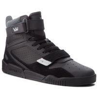 Sneakersy SUPRA - Breaker 05893-070-M Black/Lt Grey/Black, w 2 rozmiarach