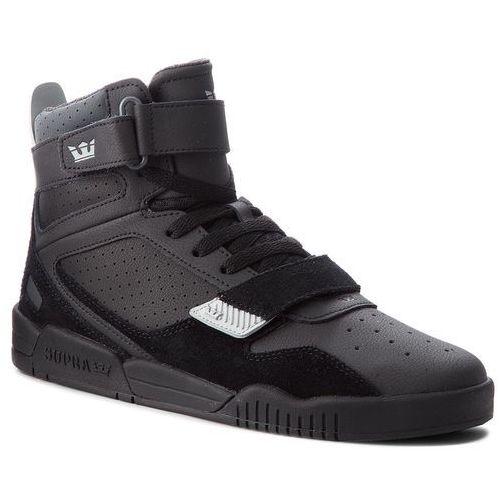 Sneakersy SUPRA - Breaker 05893-070-M Black/Lt Grey/Black