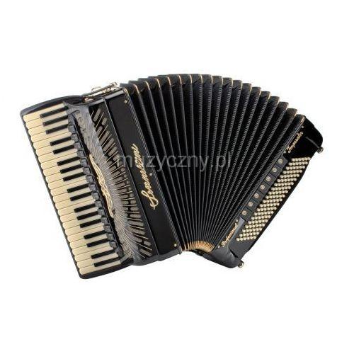 cassotto imperator gold (2+2) 41/4/15+m 120/5/7 piccolo akordeon (czarny) marki Serenellini