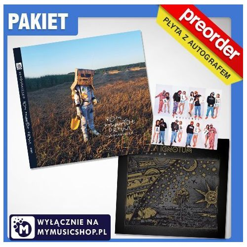 (PREORDER PAKIET) Donguralesko - Dom Otwartych Drzwi + Magnum Ignotum (cd z autografem, pakiet wlepek+ ep alphabet)