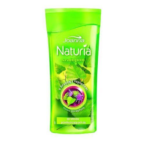 Joanna naturia szampon do włosów brzoza i łopian 200ml
