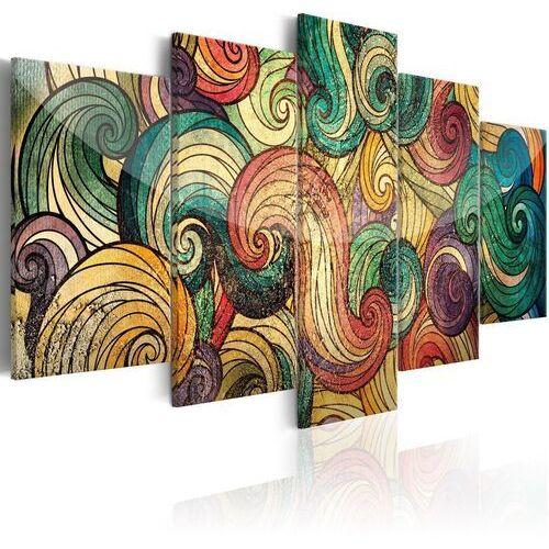 Artgeist Obraz - kolorowe fale