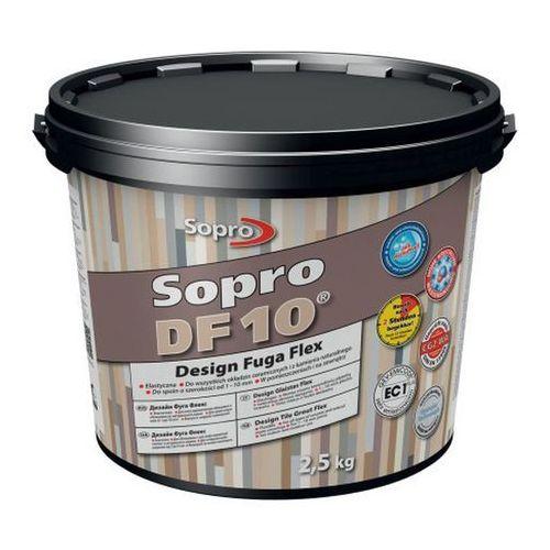 Fuga szeroka flex df10 design 14 beton szary 2 5 kg marki Sopro
