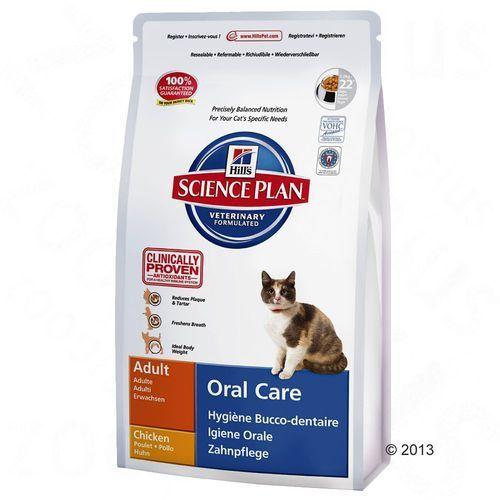 Hills Hill's feline oral care, kurczak - 2 x 5 kg