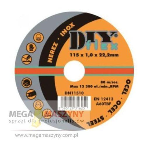 PROMA Tarcza do cięcia (10szt) Rozmiar tarczy 115 x 1,0 x 22,2 mm z kategorii tarcze do cięcia