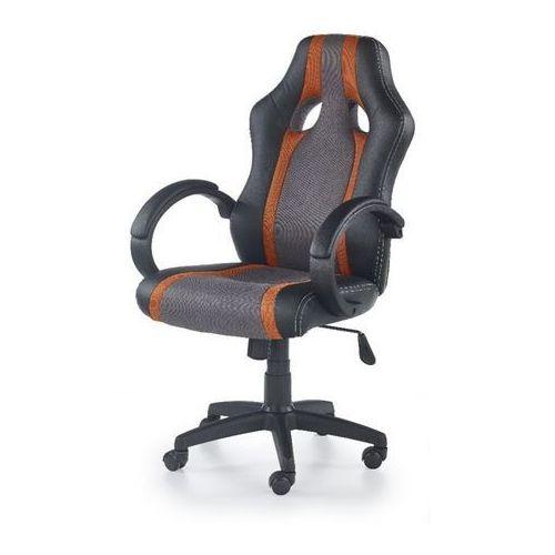 Style furniture Origin fotel gamingowy dla graczy popielato-pomarańczowy