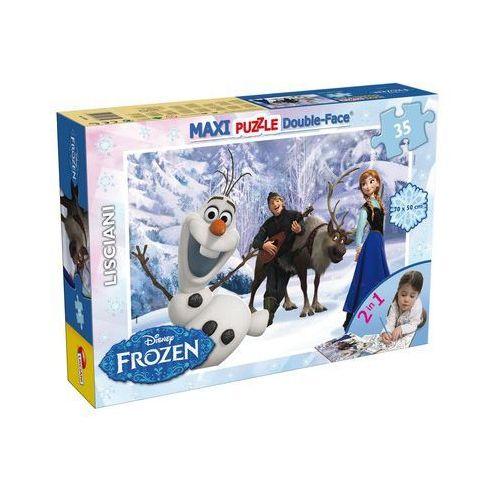 Frozen puzzle dwustronne maxi 35 (46850) marki Liscianigiochi