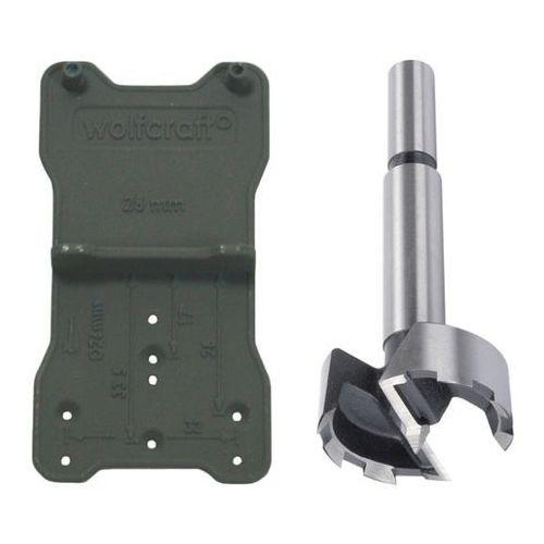 Wolfcraft wiertlo forstner śr. 35 mm + szablon 8728000 (4006885872806)