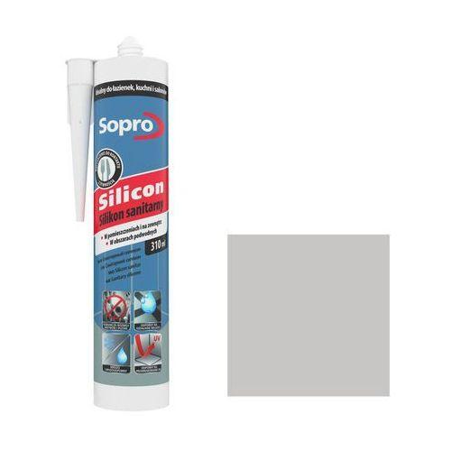 Silikon sanitarny szary 17 310 ml marki Sopro