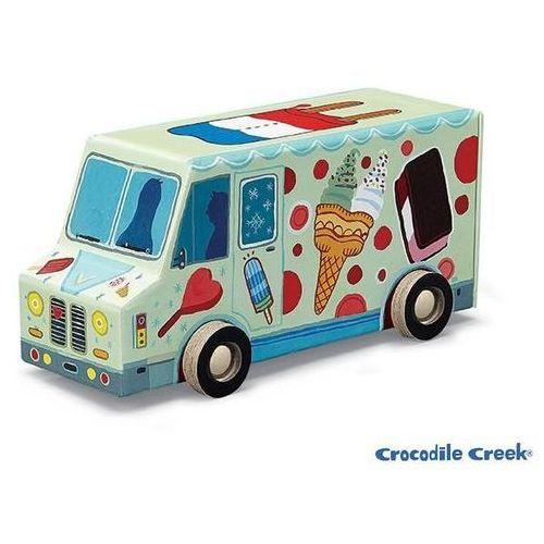 Puzzle ciężarówka z lodami 48 marki Crocodile creek