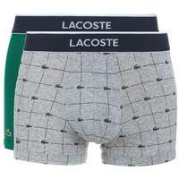 Lacoste 2-pack Bokserki Zielony Szary S (4056059060409)