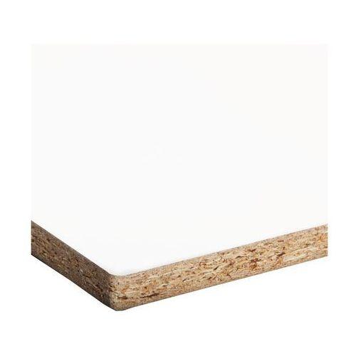 Biuro styl Płyta meblowa biała 60 x 30 cm (5906881522431)
