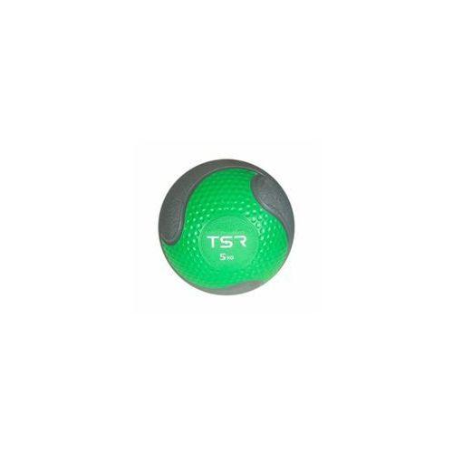 TSR Piłka lekarska kauczukowa- Zielony, 5 kg - Zielony \ 5 kg (5903140108207)
