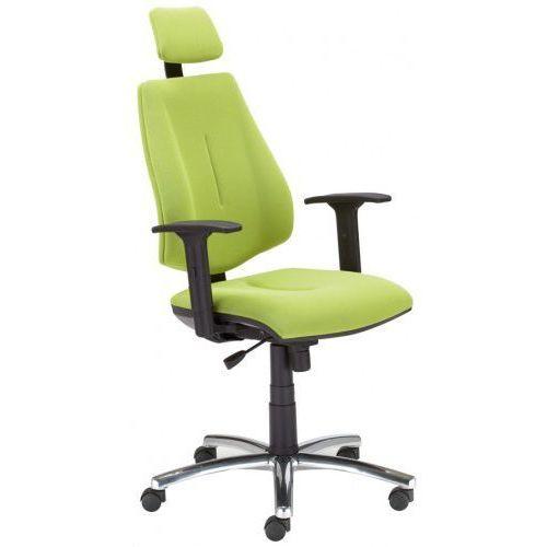 Nowy styl Krzesło obrotowe gem hru r26s steel04 chrome - biurowe z zagłówkiem, fotel biurowy, obrotowy