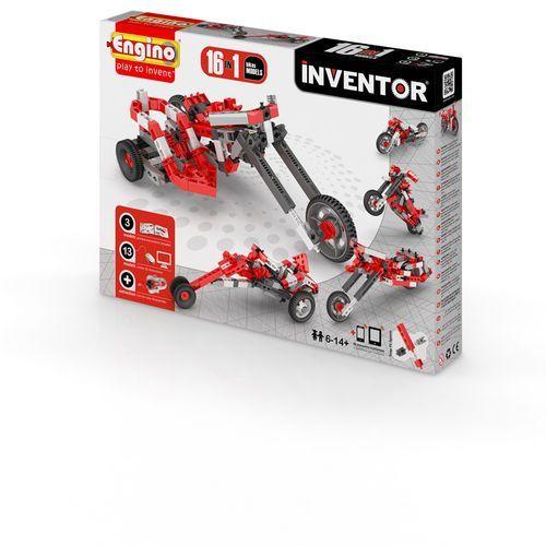 Engino, Inventor, Motocykle 16w1, klocki konstrukcyjne, towar z kategorii: Motory