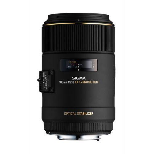 Obiektyw SIGMA 105/2.8 APO EX DG OS HSM MACRO (Canon EF) (0085126258542)