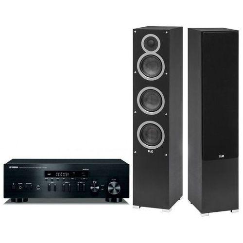 Yamaha Zestaw stereo r-n402d + elac debut f5 czarny + darmowy transport! (2900507651928)