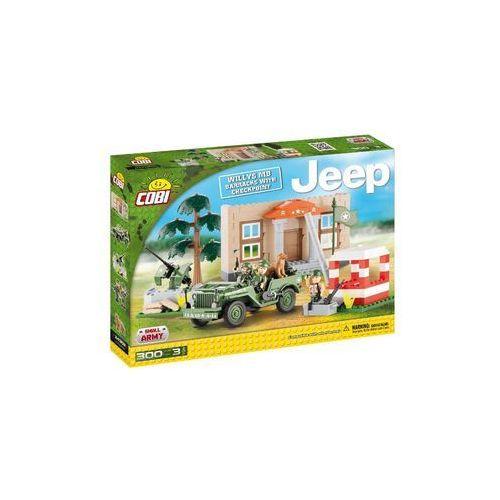 Klocki jeep 300 klocków koszary z punktem kontrolnym 24302