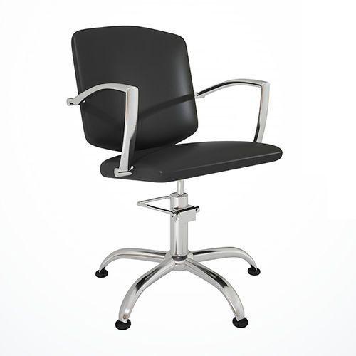 Fotel fryzjerski Pako Czarny 48h Ayala