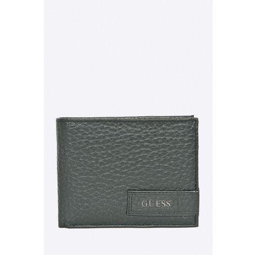 - portfel skórzany marki Guess jeans