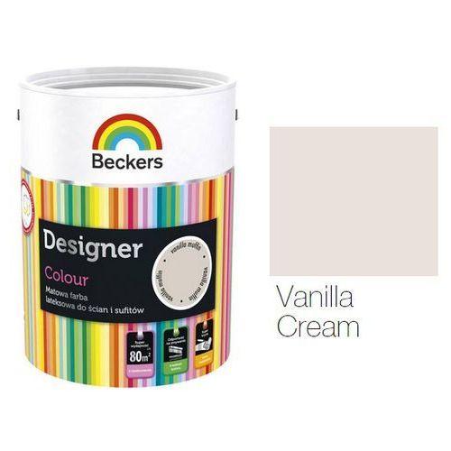 BECKERS DESIGNER COLOUR- farba lateksowa, Vanilla Cream, 2.5 l