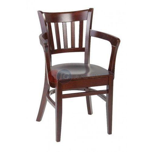 Krzesło z podłokietnikiem Buk Paged B-5410, B-5410