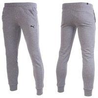 Spodnie męskie dresy essential sweat slim fl 838266 03 marki Puma
