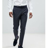 skinny suit trousers in polka dot fleck - navy, Noak