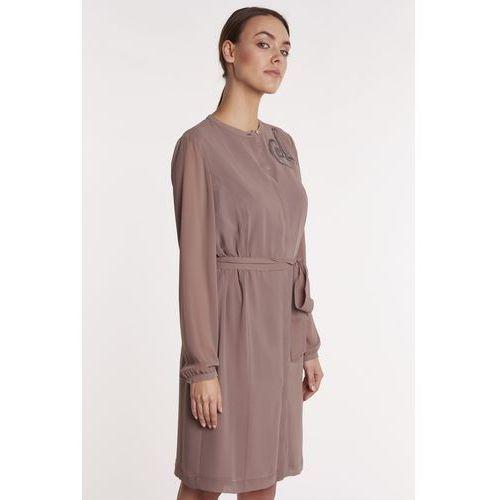 ff7cf54a5d Zwiewna sukienka z długim rękawem Gavila.