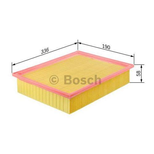 wkład filtra powietrza, silnik, 1 457 433 699 marki Bosch