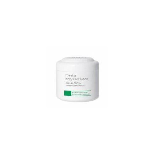 pro- maska oczyszczająca z glinką zieloną + mikrodermabrazja - 250 ml marki Ziaja