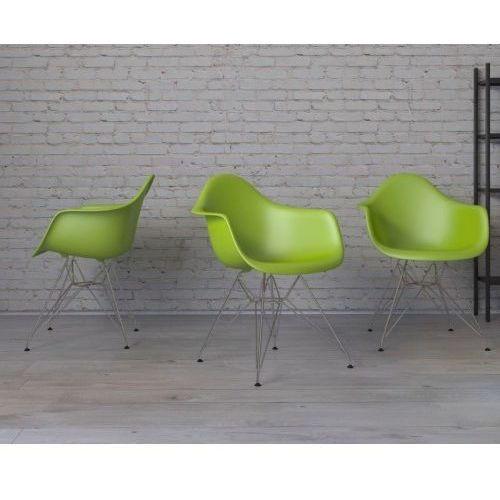 Krzesło P018 PP inspirowane DAR - zielony (5902385709293)
