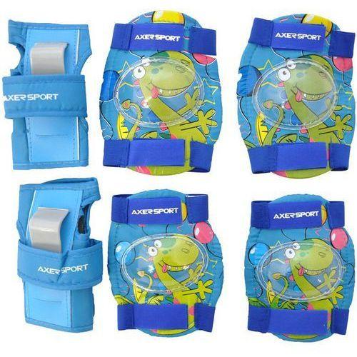 Axer sport Komplet ochraniaczy kids blue roz.m