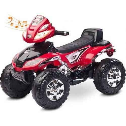 Caretero pojazd na akumulator cuatro red toyz-7055 (5902021527274)