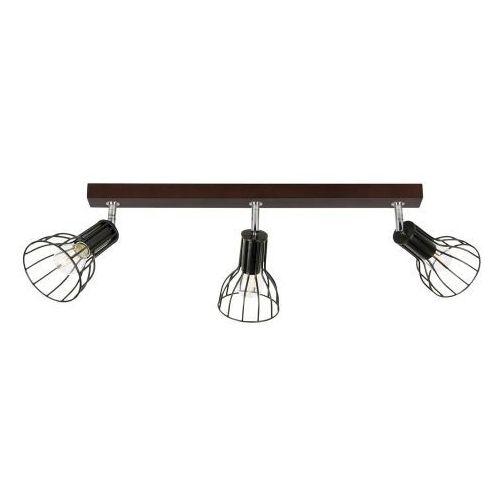 Megan Wood Sufitowa Spot-Light 2344376 Drewno Bukowe/Metal