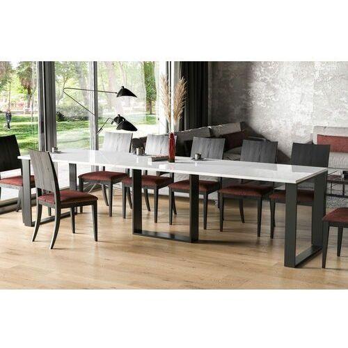 Stół borys bis rozkładany 130-310 biały połysk marki Endo