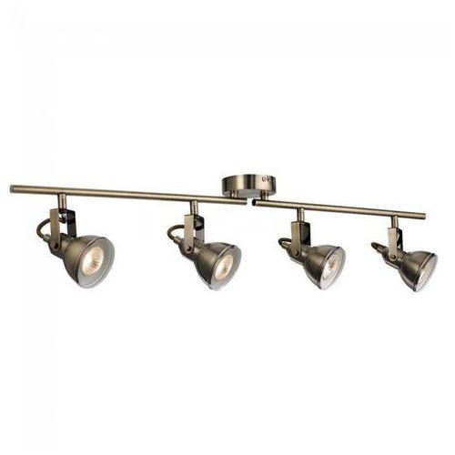 Searchlight Lampa sufitowa focus mosiądz, 4-punktowe - nowoczesny - obszar wewnętrzny - focus - czas dostawy: od 10-14 dni roboczych