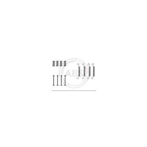 A.B.S. Zestaw akcesoriów, szczęki hamulcowe hamulca postojowego - 0667Q