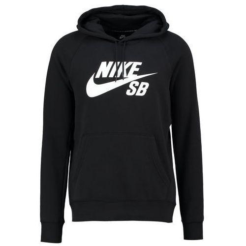 Nike SB ICON Bluza z kapturem black/white, XS-XXL