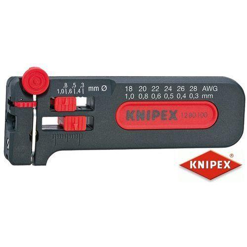 Knipex przyrząd do ściągania izolacji 0,30-1,0 mm 12 80 100 sb