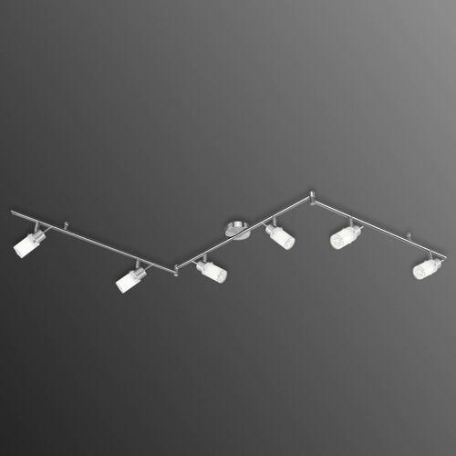 Trójramienna lampa sufitowa LED MAX, 6-punktowa (4043689908874)