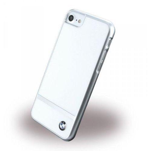 BMW ALUMINIUM STRIPE - Etui iPhone 7 (biały) (3700740385654)
