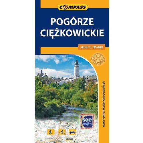 Pogórze Ciężkowickie Mapa turystyczna 1:50 000 (9788376055206)